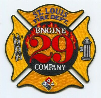 Fire Engine Party (Saint Louis Fire Department Engine Company 29 Patch Missouri MO 4.00)