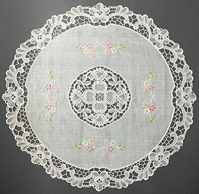 """Vinyl Lace Placemats Non Skid 16"""" Set of 4 Table Placemats Gift Idea for sale  Shipping to India"""