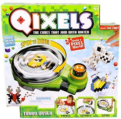 Qixels Turbo Dryer Playset