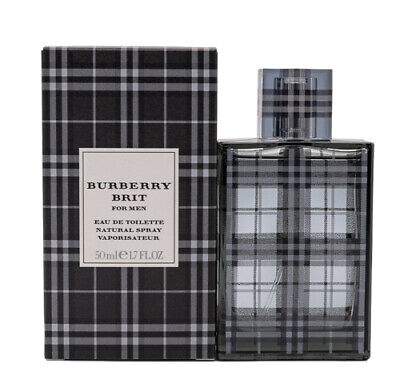 Burberry Brit by Burberry 1.7 oz EDT Cologne for Men New In Box
