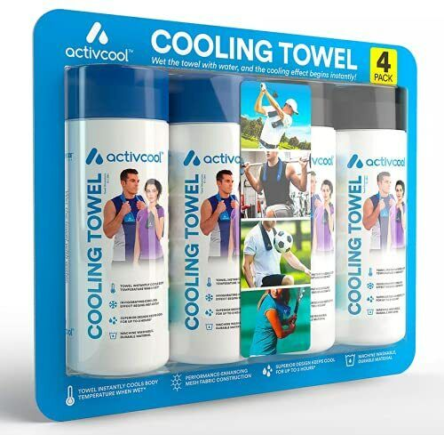 Activcool Cooling Towel - 4 pk. - Keep Cool this Summer