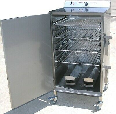Select 1500-c Commercial Restaurant Electric Bbq Smoker Food Trucks Etl Certifie