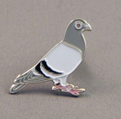 RACING PIGEON ENAMEL PIN BADGE - NEW
