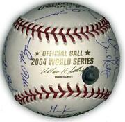 Red Sox Team Signed Baseball