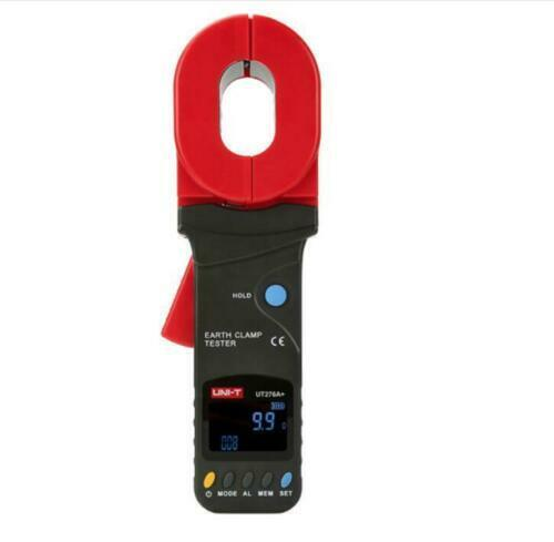 UNI-T UT276A+ Auto Range Digital Clamp Earth Ground Tester #