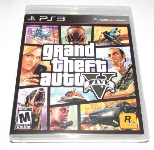 Gta Grand Theft Auto V 5 Ps3: Grand Theft Auto 5 PS3 New