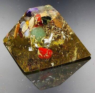 Orgonit Orpanit® Orgon Energie Maya Pyramide XS Edelsteine