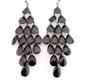 Chandelier earrings ebay black chandelier earrings aloadofball Choice Image