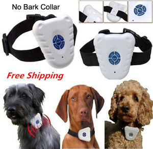Harmless water resistant ultrasonic bark collar 100% NEW