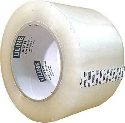Packing Tape, 3 Inch X 110 Yard 2.6 Mil Crystal Clear Industrial Plus Tape by of