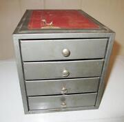 Vintage Parts Cabinet