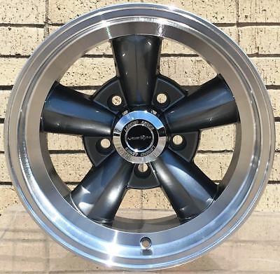 """4 New 15"""" Wheels Rim for Ford Mainline Mustang Thunderbird Vintage Sedan -4202"""