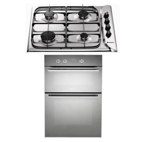 gas hob electric oven ebay. Black Bedroom Furniture Sets. Home Design Ideas