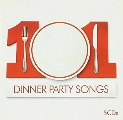 5 CD SET!   101 DINNER PARTY SONGS:    Bowie AIR Moby Roxy Music Massive Attack