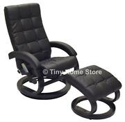 Leather Swivel Recliner Chair