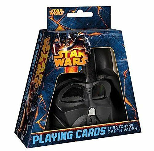 Star Wars The Story of Vader Playing Cards With Darth Vader Case