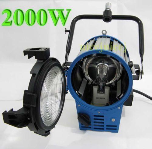 Mole Richardson 400w Vari Studio Junior Led Fresnel: 2K Light