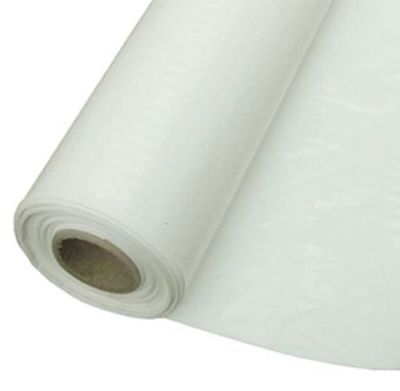 White Polythene Plastic Roll 3.6m x 300m x 20mu