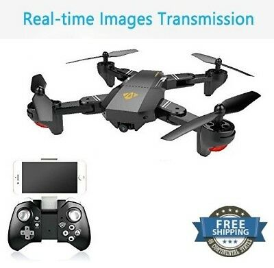 Rc Drone Quadcopter FPV Real Time HD Camera Wifi Child Present Kids Best Gifts