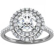 Diamond Solitaire Engagement Rings 3 Ct