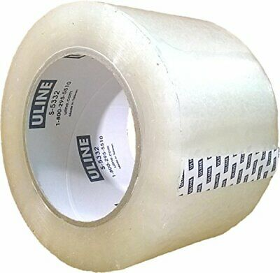 Packing Tape 3 Inch X 110 Yard 2.6 Mil Crystal Clear Industrial Plus Tape By