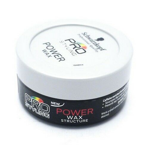 SCHWARZKOPF PRO STYLING POWER WAX STRUCTURE 75ML