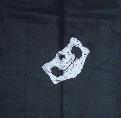 - 1 pc Skull Jaw Bone Bandana Head Wrap Face Mask Outdoor Sport Paintball Scarf