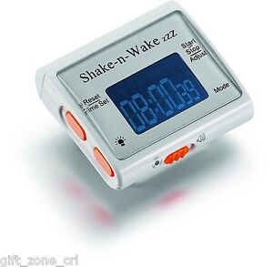 SHAKE-N-WAKE-Silent-Vibrating-ALARM-Wrist-CLOCK-Watch