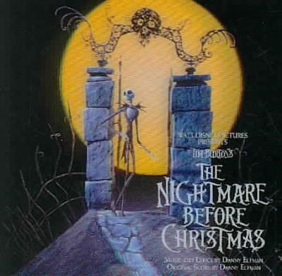 TIM BURTON'S THE NIGHTMARE BEFORE CHRISTMAS NEW CD](Halloween Before Christmas Soundtrack)