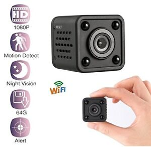 Mini WiFi Spy Camera, Hidden Camera 1080P Resolution with Night