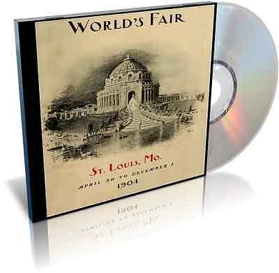 1904 St. Louis Worlds Fair Louisiana Purchase Exposition Rare Books on CD