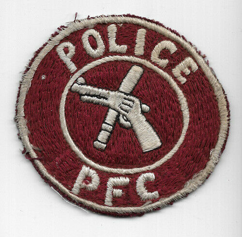 Obsolete Philippine National Police PFC Patch