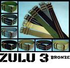 Zulu Strap Military Watch Bands