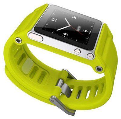 LunaTik TikTok Watch Band Wrist Strap Bracelet for iPod Nano 6 Generation-Yellow
