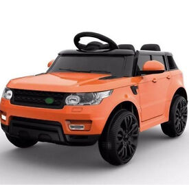 Compact HSE Range Rover Style 12v Child's ride on PARENT CONTROL MP3