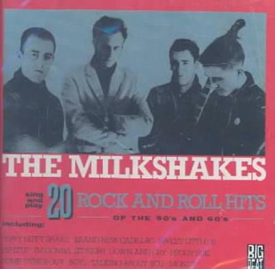 THE MILKSHAKES - SING AND PLAY 20 ROCK AND ROLL HITS OF THE 50'S AND 60'S NEW CD - Rock And Roll Of The 50s