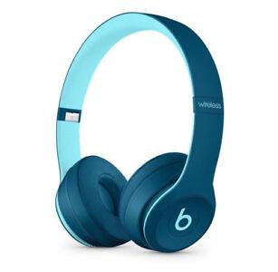 Brand New Sealed Beats Solo3 Wireless On-Ear-HeadPhones Pop
