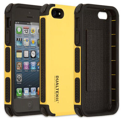 PUREGEAR YELLOW DUALTEK EXTREME RUGGED CASE COVER FOR APPLE