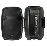 Active speaker '15  bluetooth and USB 500W
