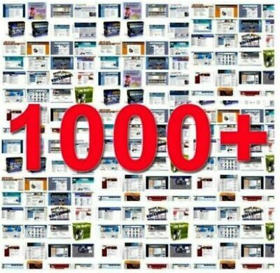 1000 Turnkey Websites Readymade Many Categories For Sale W. Full Resell Rights