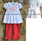 Smocked A Lot Red Dresses (Newborn - 5T) for Girls
