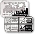 One Ounce .999 Silver Bar