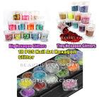 Glitter Plastic Nail Art Glitters