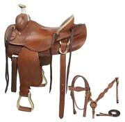 Western Work Saddle