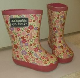 Jojo Maman Bebe Wellie Boots Girls Size 3 COLLECTION ONLY