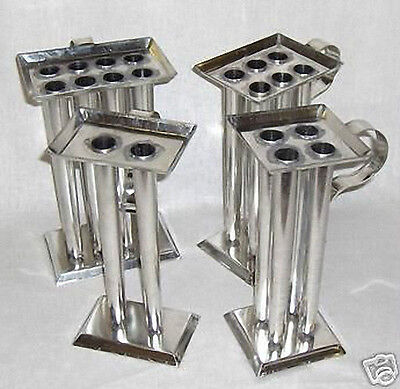 8 TUBE TAPER Metal Candle Mold (10 inch Tapers)