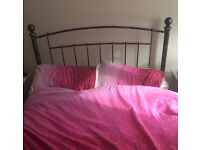 Cast Iron Double Bed NOW £120