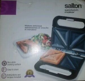 Salton Sandwich / Grilled-cheese maker