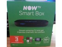 Now smart box complete with 3 months entertainment pass