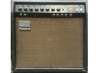 "Roland Bolt ""60"" rare hybrid guitar amplifier. With original tubes."